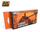 AK German Camouflage Wargames Paint Set