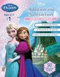 Disney Frozen Addition and Subtraction Learning Workbook
