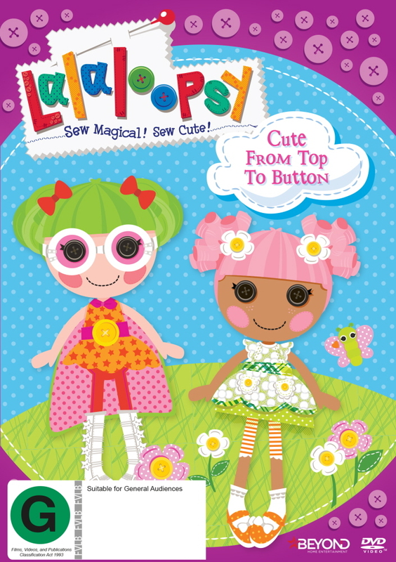 Lalaloopsy: Cute From Top To Button on DVD