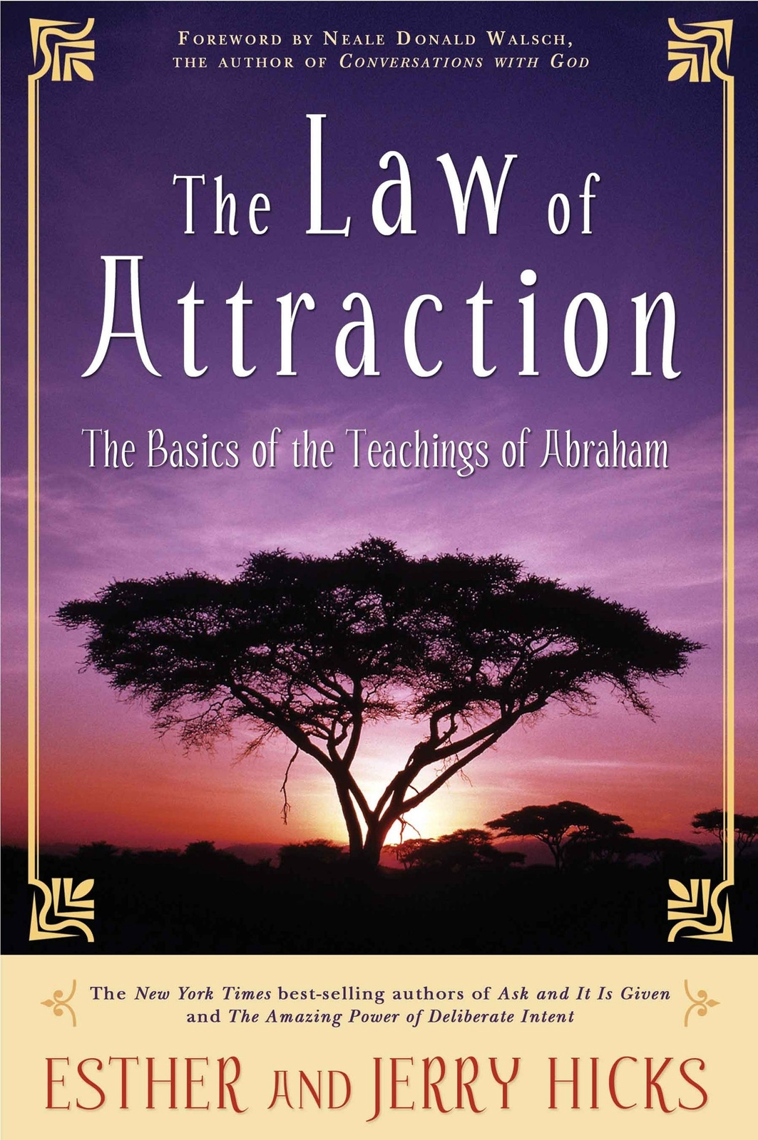 The Law of Attraction: The Basics of the Teachings of Abraham by Esther Hicks image