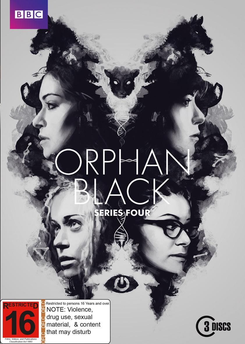 Orphan Black Season 4 on DVD image