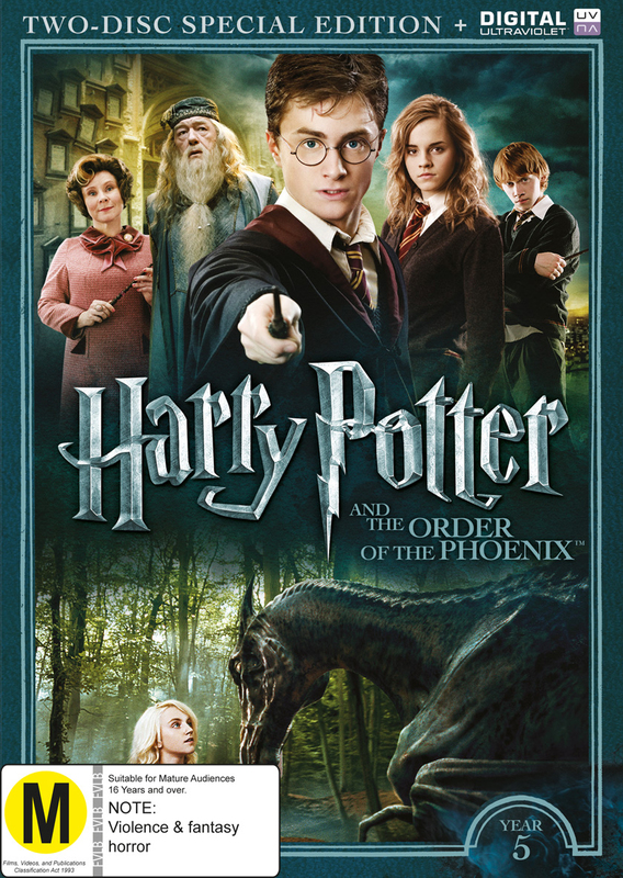 Harry Potter: Year 5 - The Order Of The Phoenix (Special Edition) on DVD