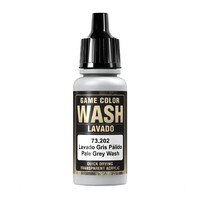 Vallejo 202 Pale Grey Wash 17ml