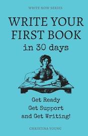 Write Your First Book by Christina Young image