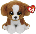 Ty Beanie Babies: Snicky Brown Dog - Small Plush