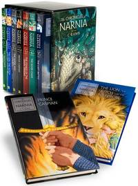The Chronicles of Narnia Complete Box Set (Hardback, 7 books) by C.S Lewis
