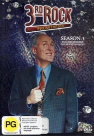 3rd Rock From The Sun Season 3 (3 Discs) on DVD image