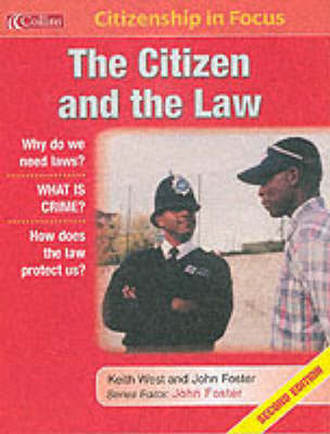 The Citizen and the Law by Keith West image