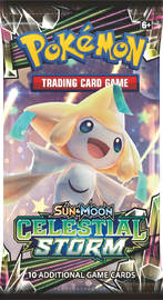 Pokemon TCG: Celestial Storm Single Booster (10 Cards)