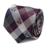 Star Wars: Darth Vader (Plum) - Modern Plaid Tie