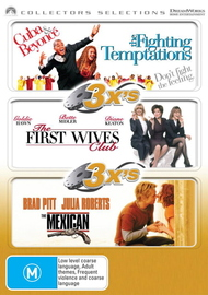 3x's - Fighting Temptations / First Wives Club / Mexican (Collectors Selections) (3 Disc Set) on DVD image