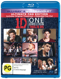 One Direction: This is Us (Blu-ray/Ultraviolet) on Blu-ray