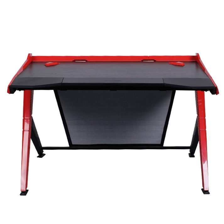 DXRacer Gaming Desk (Black & Red) screenshot