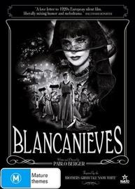 Blancanieves on DVD