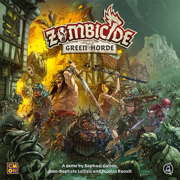 Zombicide: Green Horde - Board Game