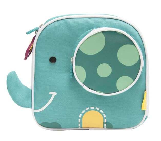 Marcus & Marcus: Insulated Lunch Bag - Elephant