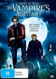 Cirque Du Freak: The Vampires Assistant on DVD