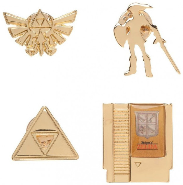 The Legend of Zelda Boxed Lapel Pin Set