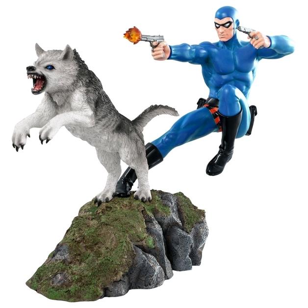 Phantom and Devil (Blue Suit) - 1:6 Scale Statue