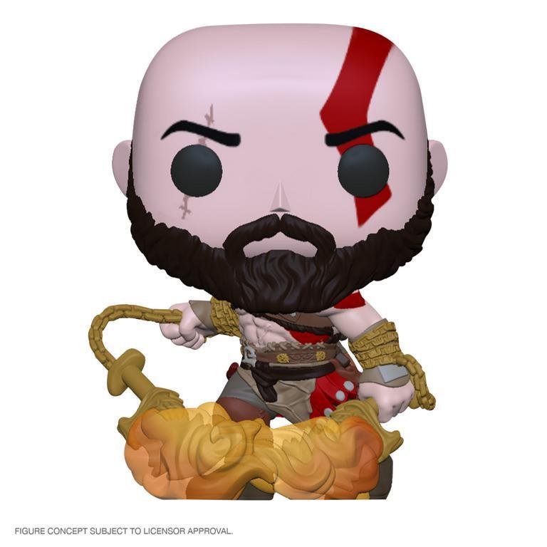 God of War: Kratos (Glow) - Pop! Vinyl Figure image