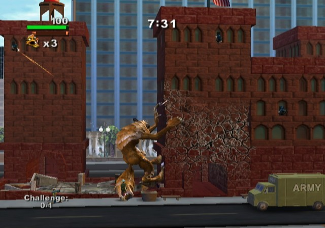 Rampage: Total Destruction for Nintendo Wii image