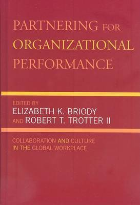 Partnering for Organizational Performance