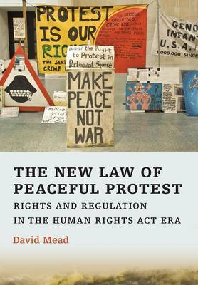 The New Law of Peaceful Protest by David Mead image