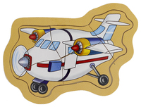 Fun Factory - Push Up Puzzle Airplane