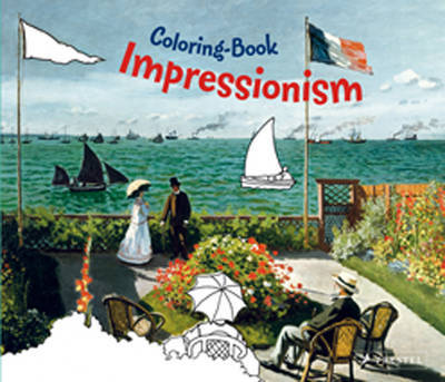 Impressionism Coloring Book image