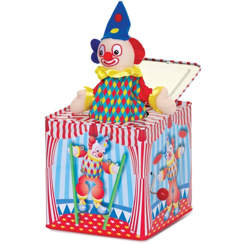 Clown Jack in the Box image