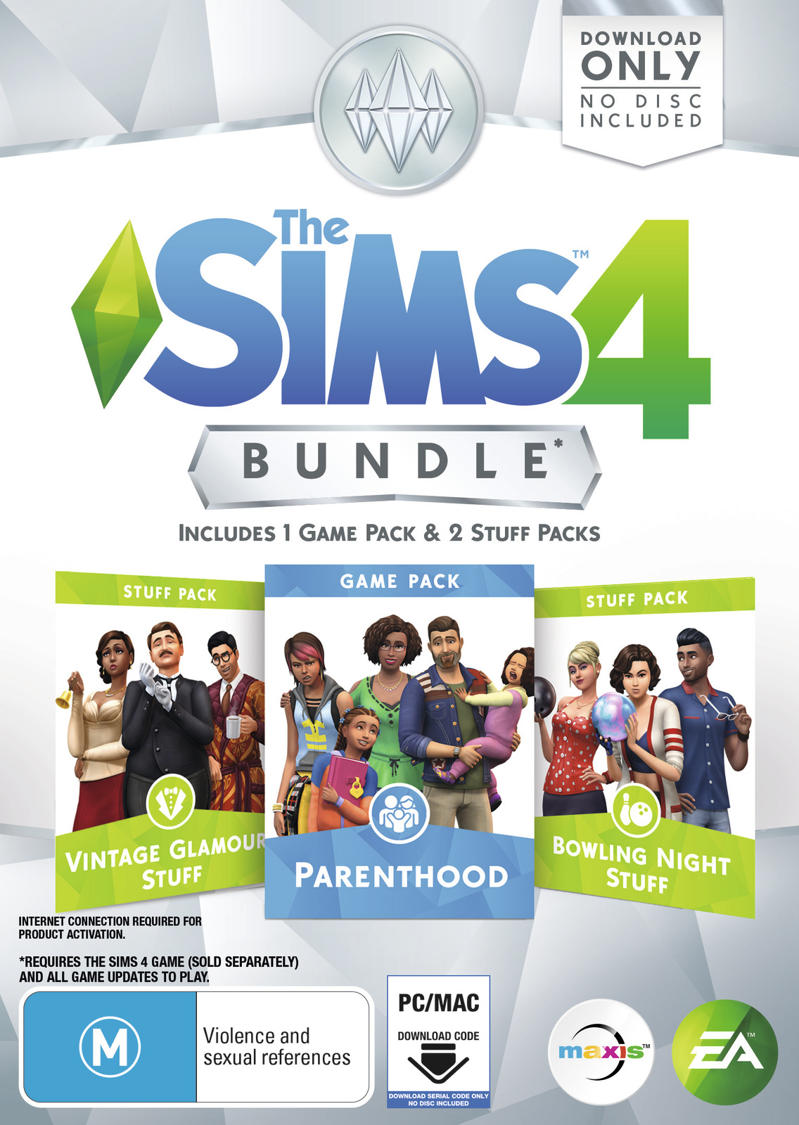 The Sims 4 Bundle Pack 9 (code in box) for PC Games image