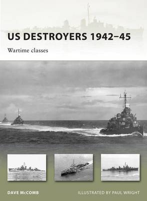 US Destroyers 1942-45 by Dave McComb image