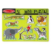 Melissa & Doug: Zoo Animals Sound Puzzle
