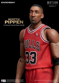 NBA: Scottie Pippen - 1/9 Scale Action Figure