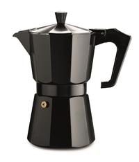 Pezzetti: Italexpress Aluminium Coffee Maker - Black (6 Cups)