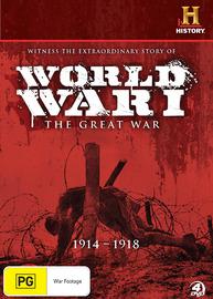 World War 1: The Great War (4 Disc Set) on DVD