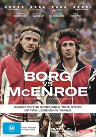 Borg vs McEnroe on DVD