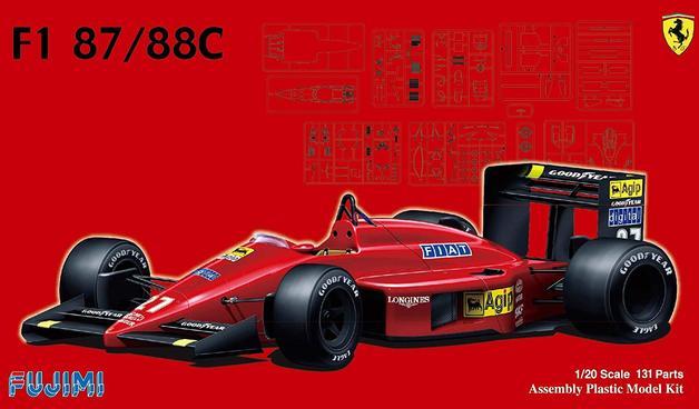 Fujimi: 1/20 Ferrari F1-87/88C (1987 / 1988) - Model Kit