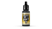 Vallejo Model Air Black Acrylic Paint 17ml