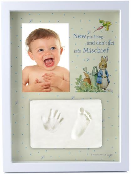 Beatrix Potter: Giftset: Baby Hand/Foot Clay Frame