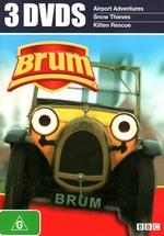 Brum - 3 DVDs (Airport Adventures / Snow Thieves / Kitten Rescue) (3 Disc Set) on DVD