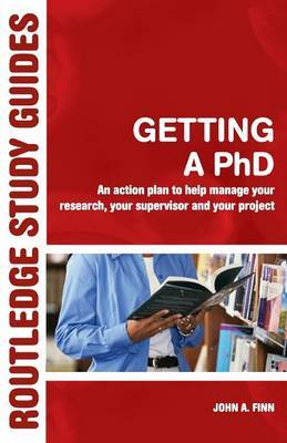 Getting a Phd by John A Finn image