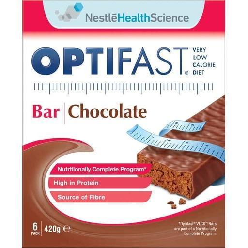 Optifast Bar - Chocolate (6 x 70g) image