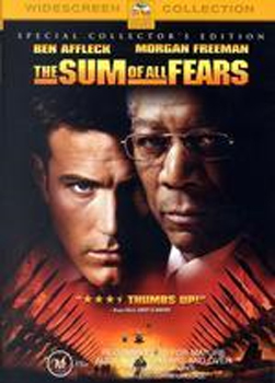 The Sum of All Fears on DVD image