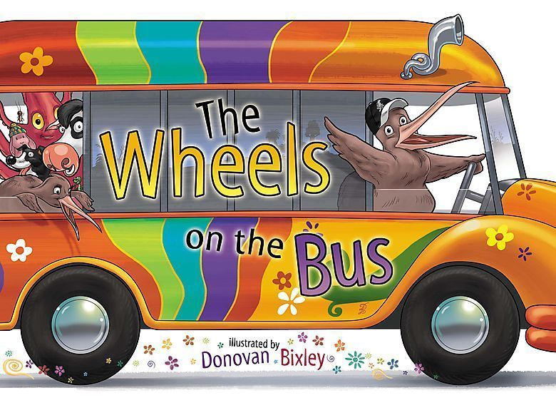 The Wheels on the Bus by Donovan Bixley image