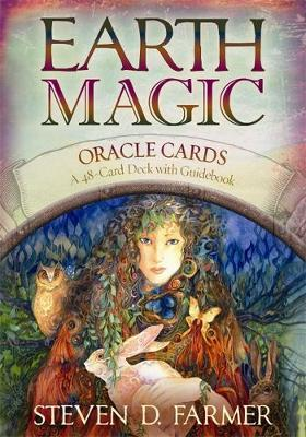 Earth Magic Oracle Cards (Deck and Guidebook) by Steven D. Farmer