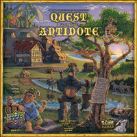 Quest for the Antidote - Board Game