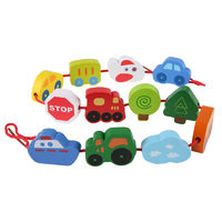 Hape: Lacing Vehicles