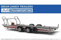 Aoshima 1/24 Brian James Trailers A4 Transporter - Scale Model