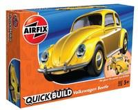 Airfix Quickbuild Volkswagen Beetle Yellow - Model Kit